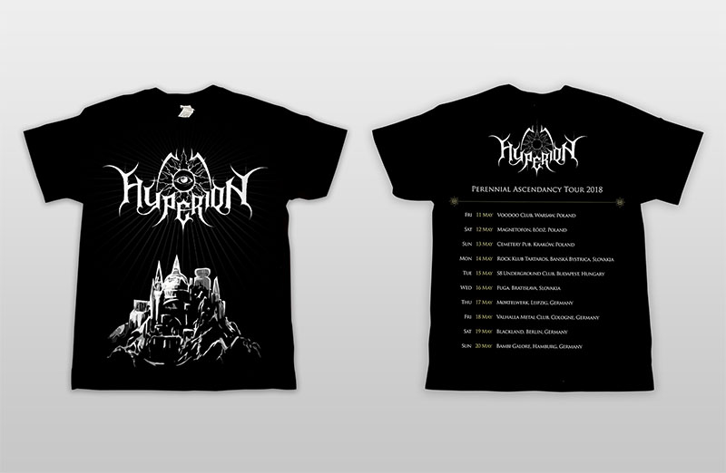 Perennial Ascendancy tour t-shirt