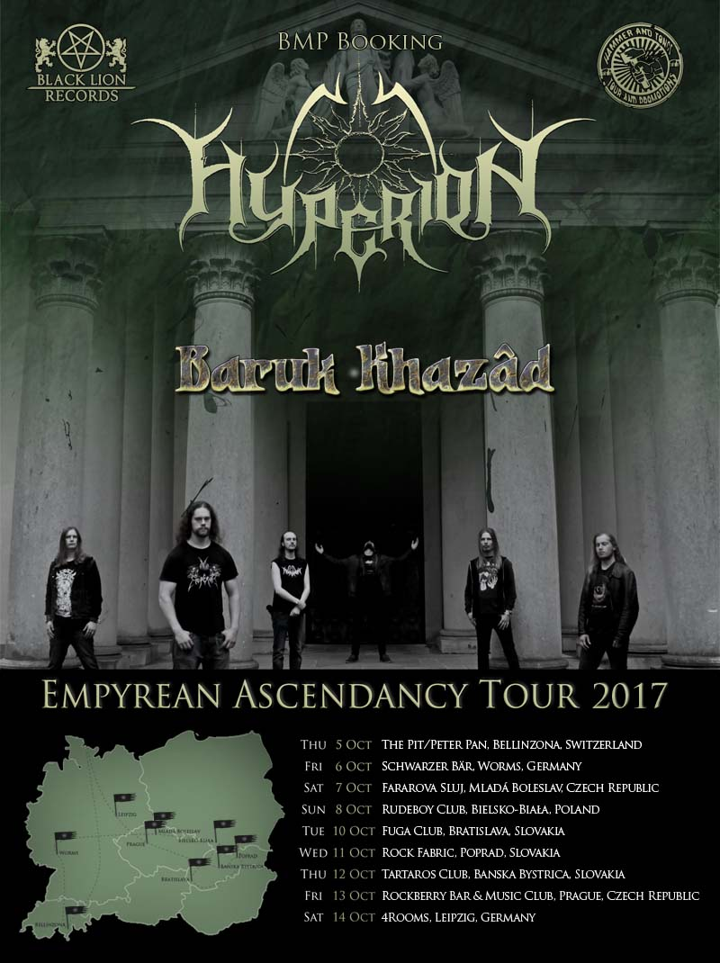 Empyrean Ascendancy tour poster