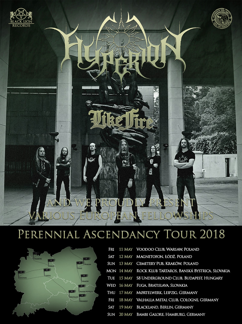 Perennial Ascendancy tour poster